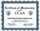 CCAA Membership Certificate