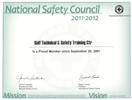 NSC Membership Certificate