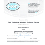 IASST Membership Certificate